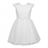 dievčenské šaty na svadbu JULIA biele 61f93c8f42a
