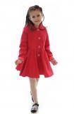 dievčenský jarný kabát s kapucňou MARYSIA béžový a0d090eb978