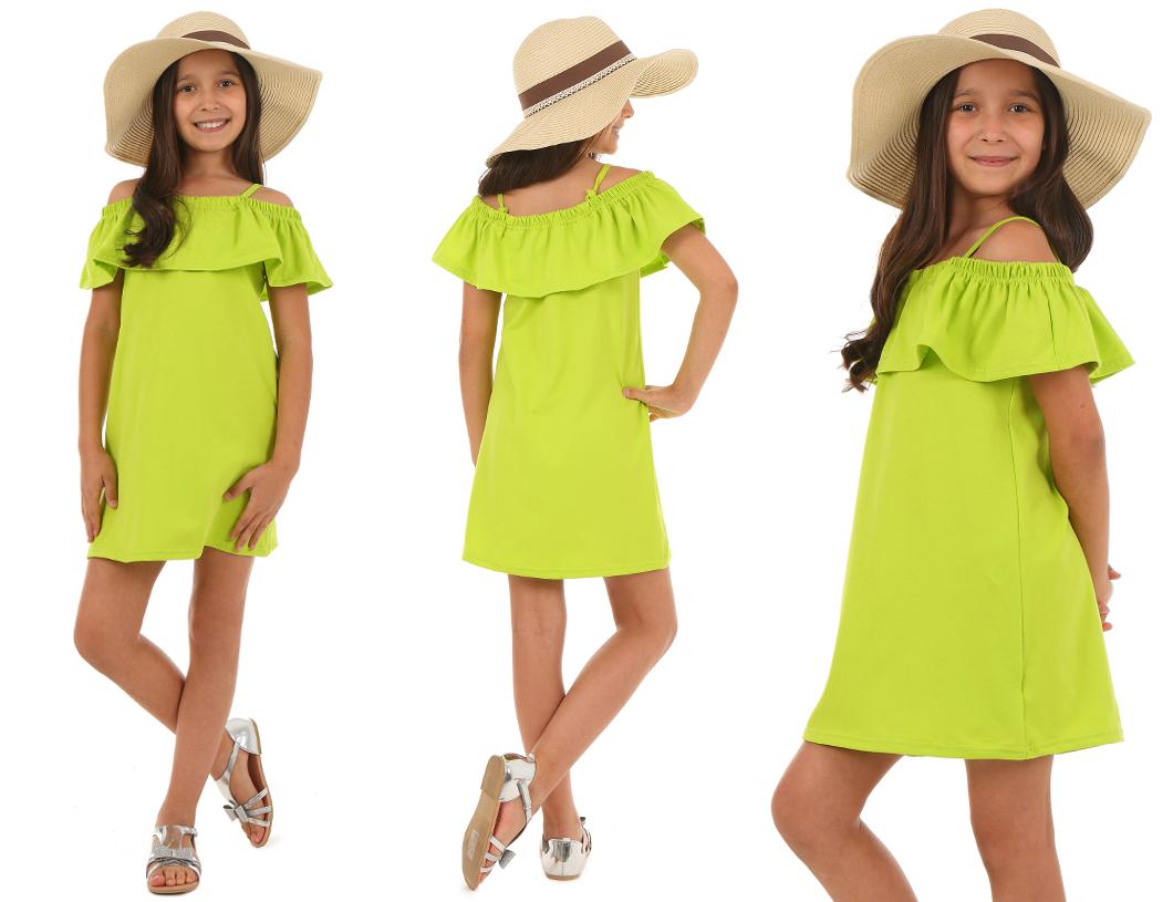 5f1ffc7b33ad dievčenské letné šaty s volánom ružové. skladom