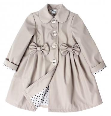 01f193543868 detský jarný kabátik STELLA sivý