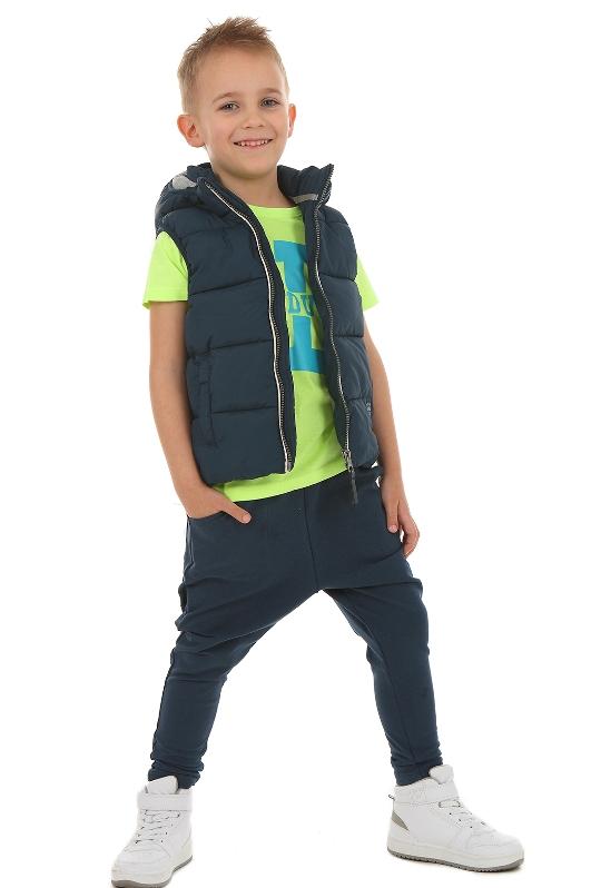 782cfeaccb6a chlapčenské baggy nohavice modré
