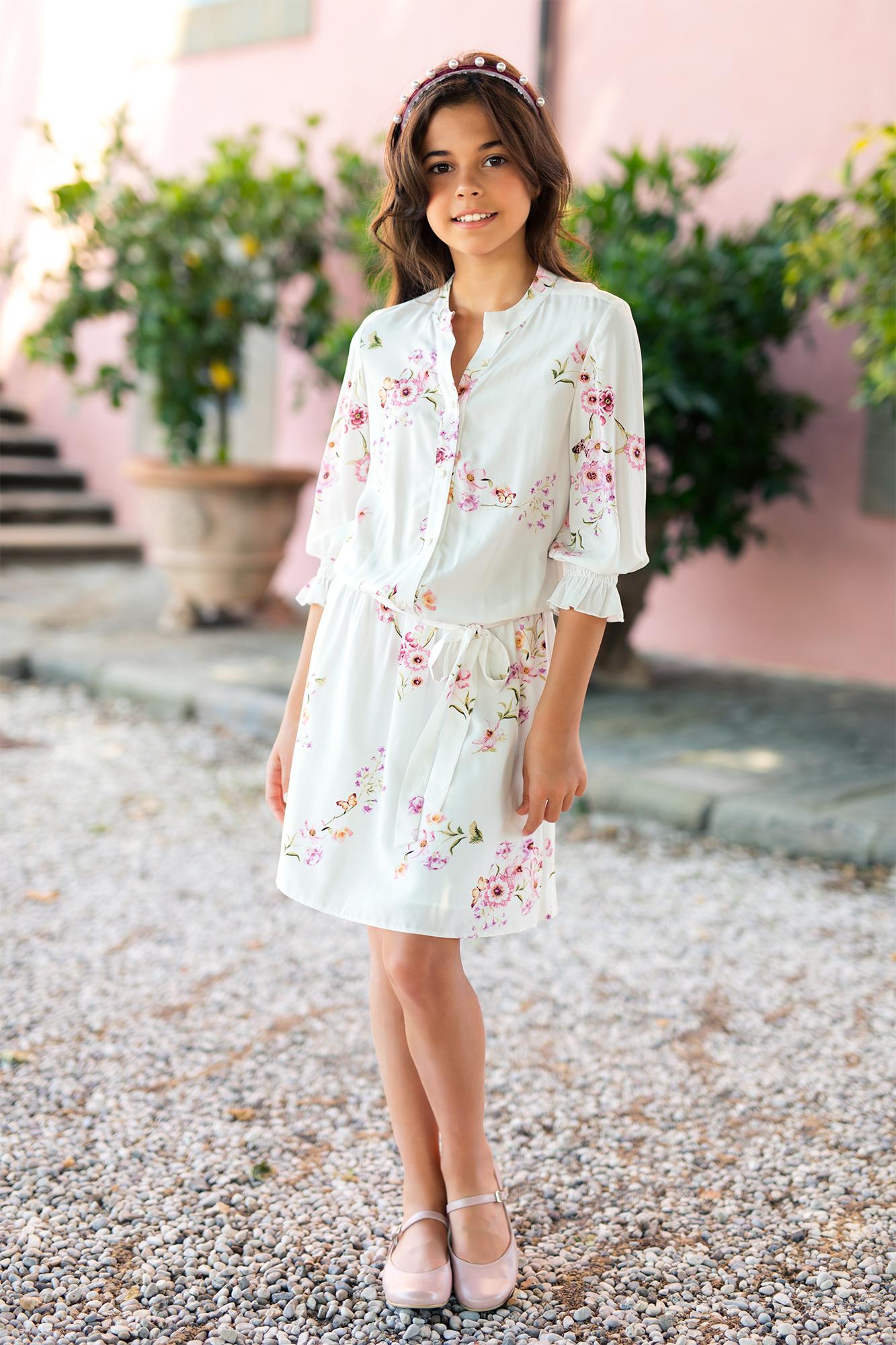 dievčenské kvetinové šaty 0cae6dfe262
