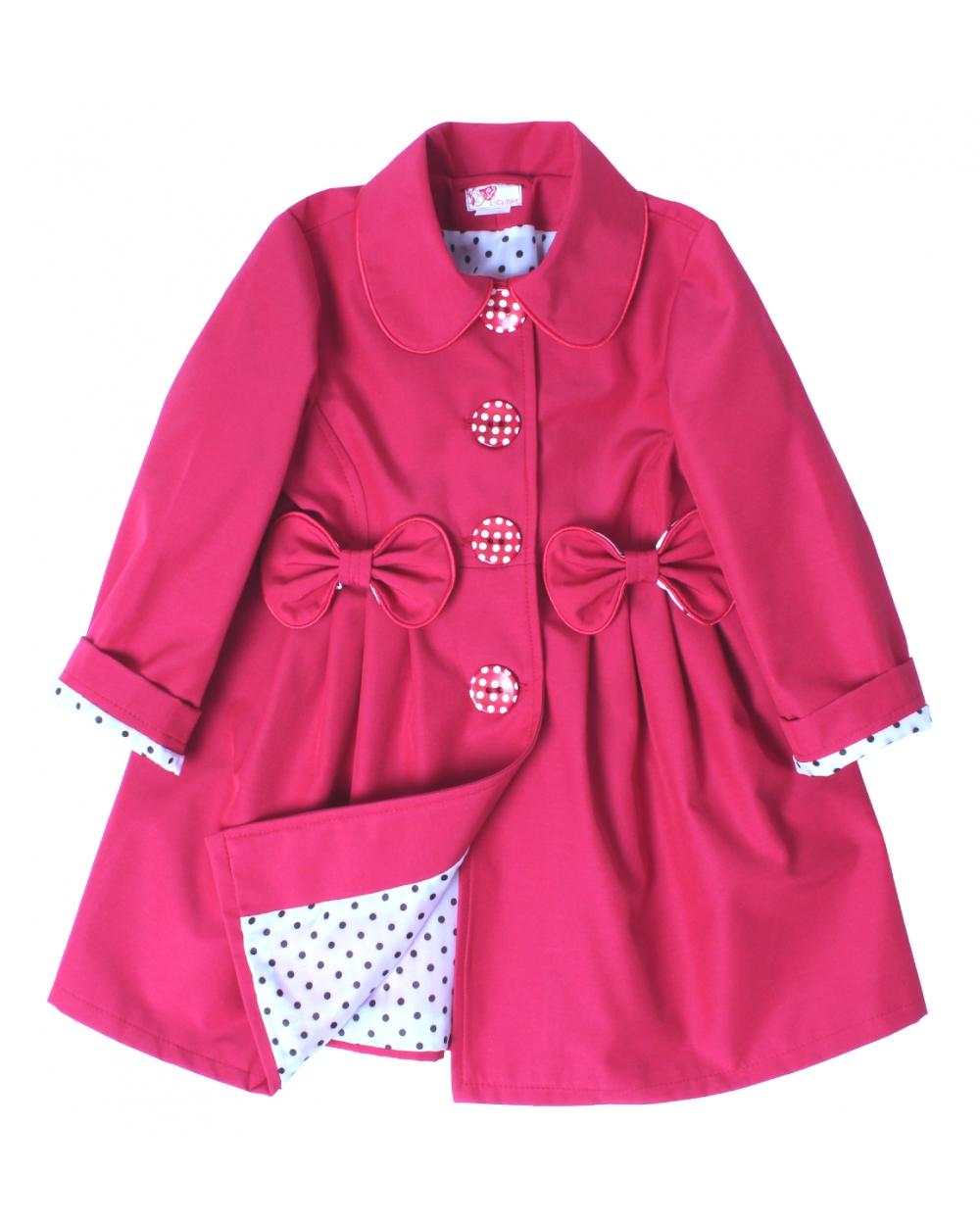 detský jarný kabátik STELLA ružový f78236cf272