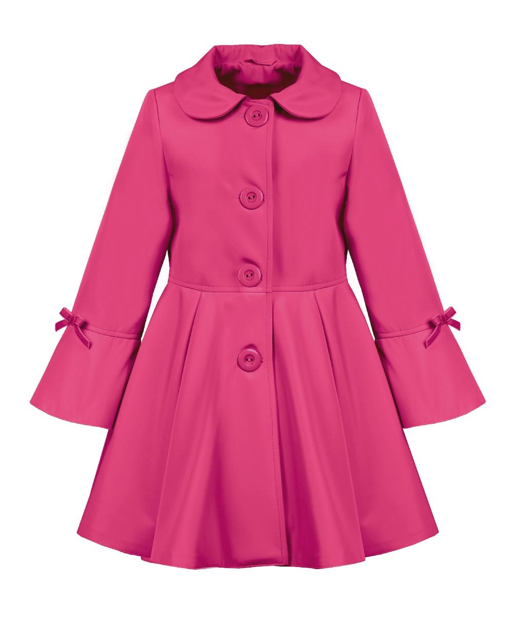 detský jarný kabátik ELLEN ružový a8bc30f9878