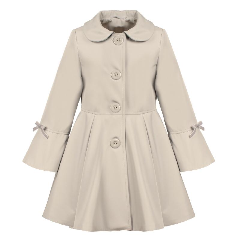 e155fa6ebfce detský jarný kabátik ELLEN bežový