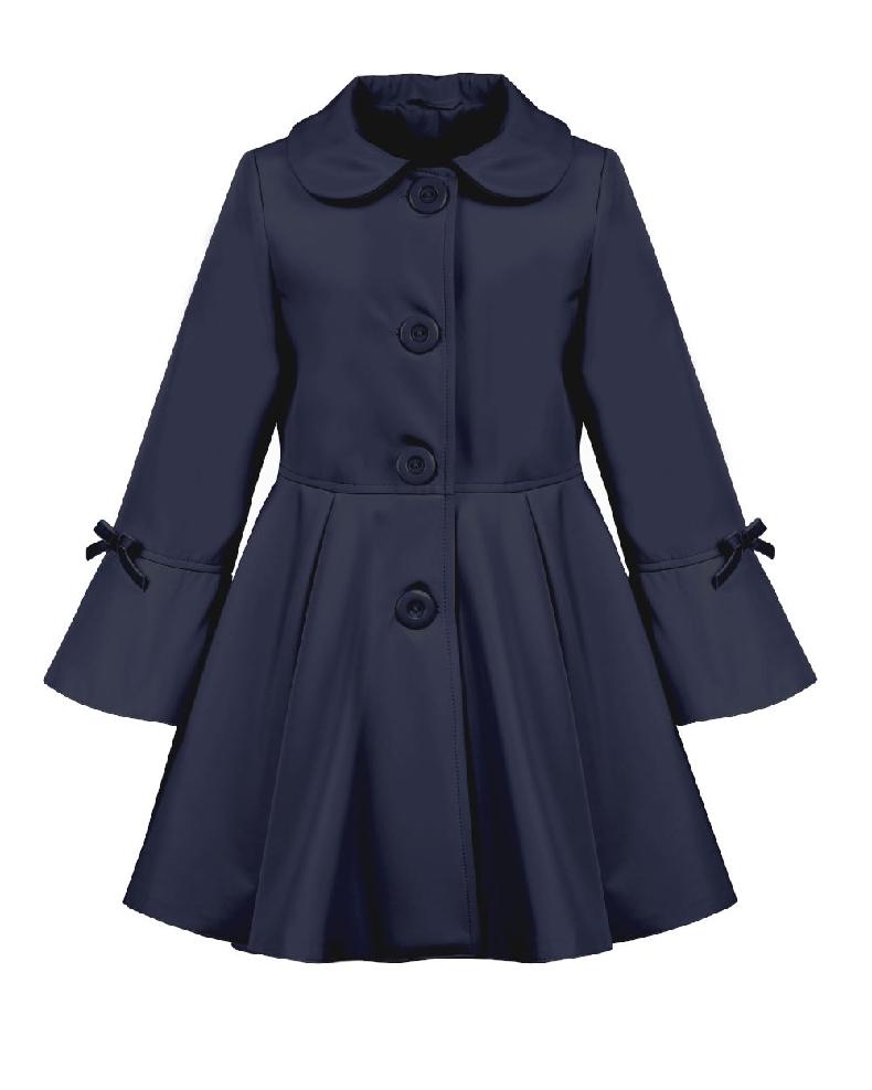 dc4eceacbd59 detský jarný kabátik ELLEN modrý