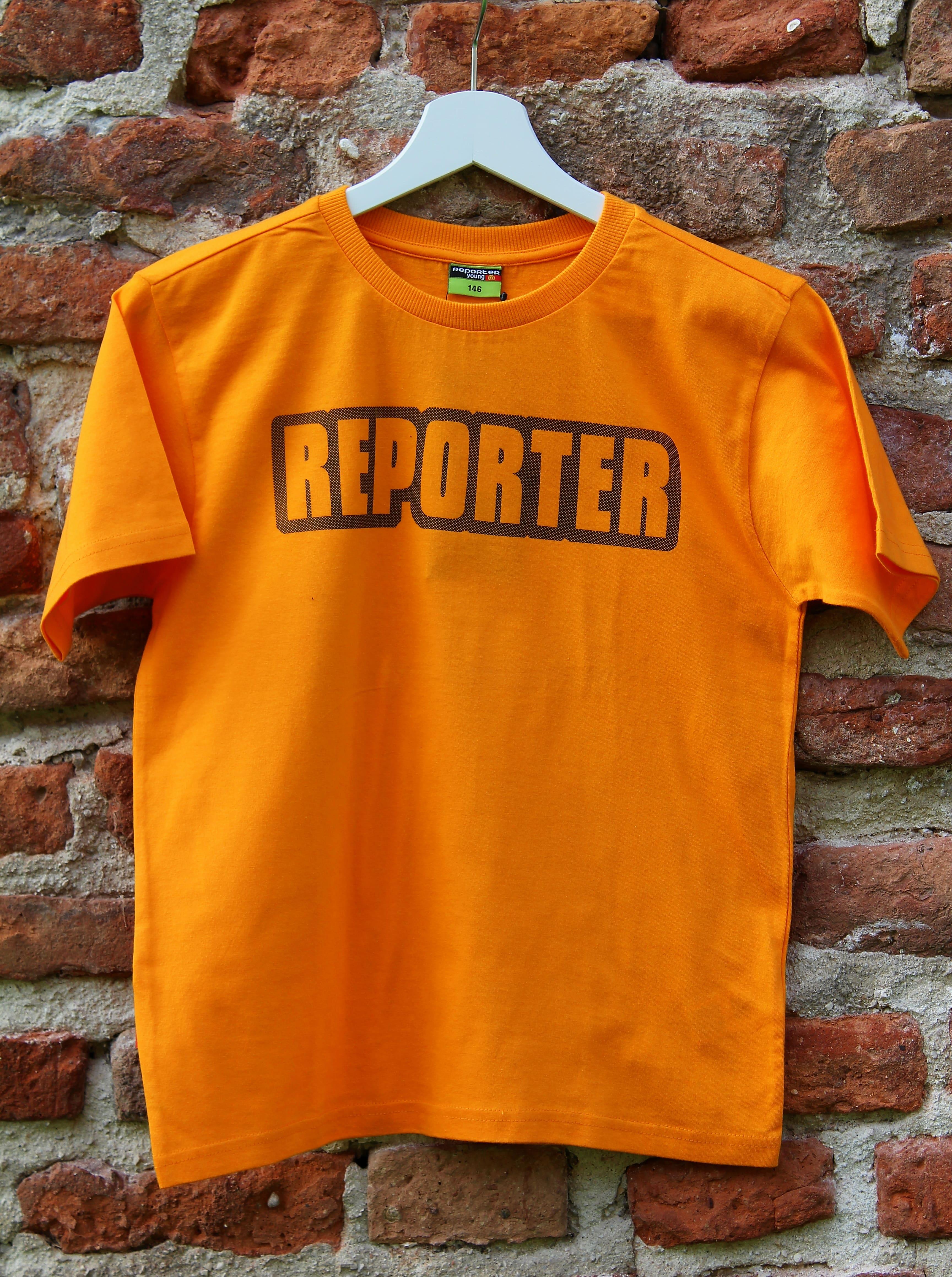 f5d10d32fce7 chlapčenské tričko REPORTER oranžové