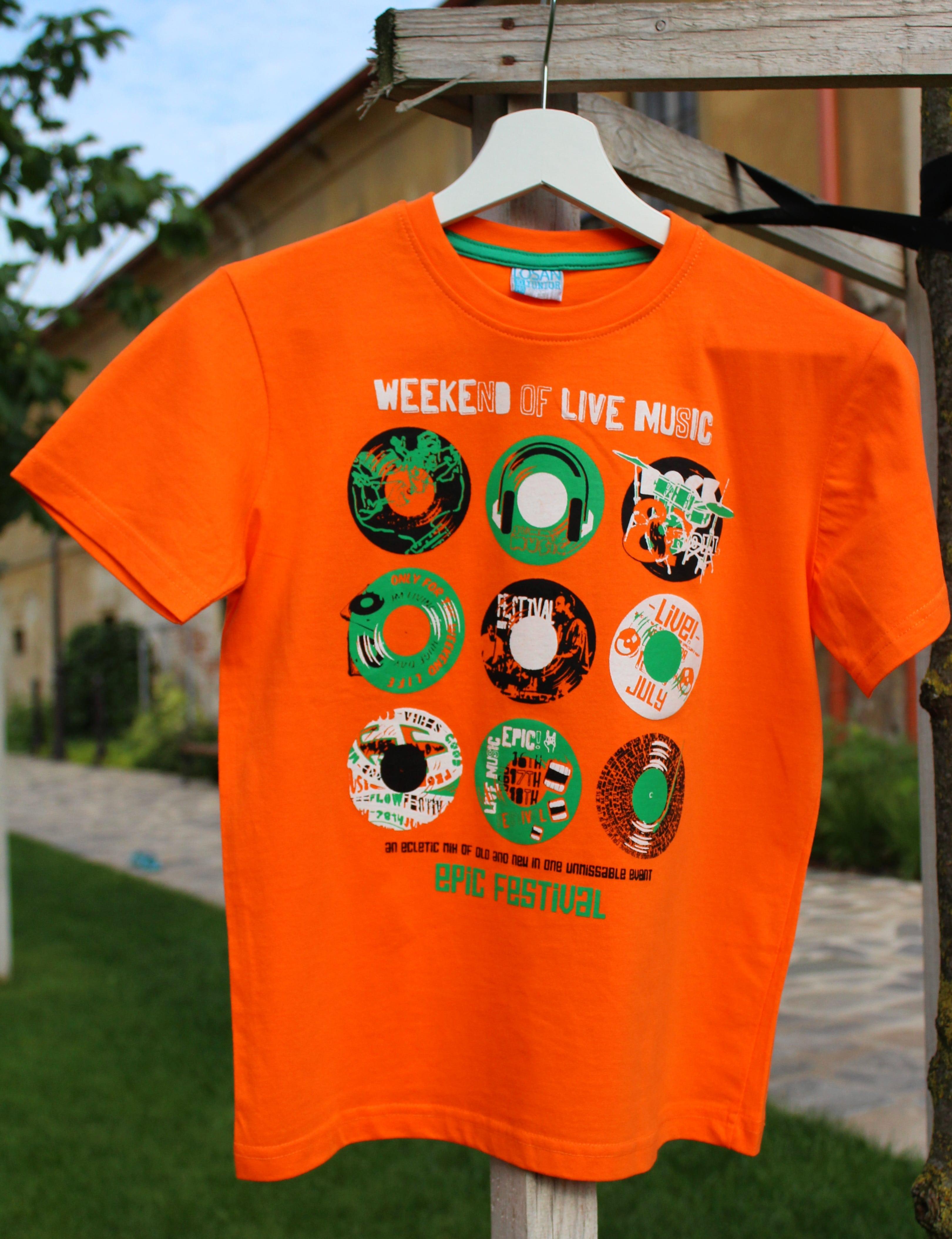ab5e21d59752 chlapčenské tričko LOSAN LIVE MUSIC