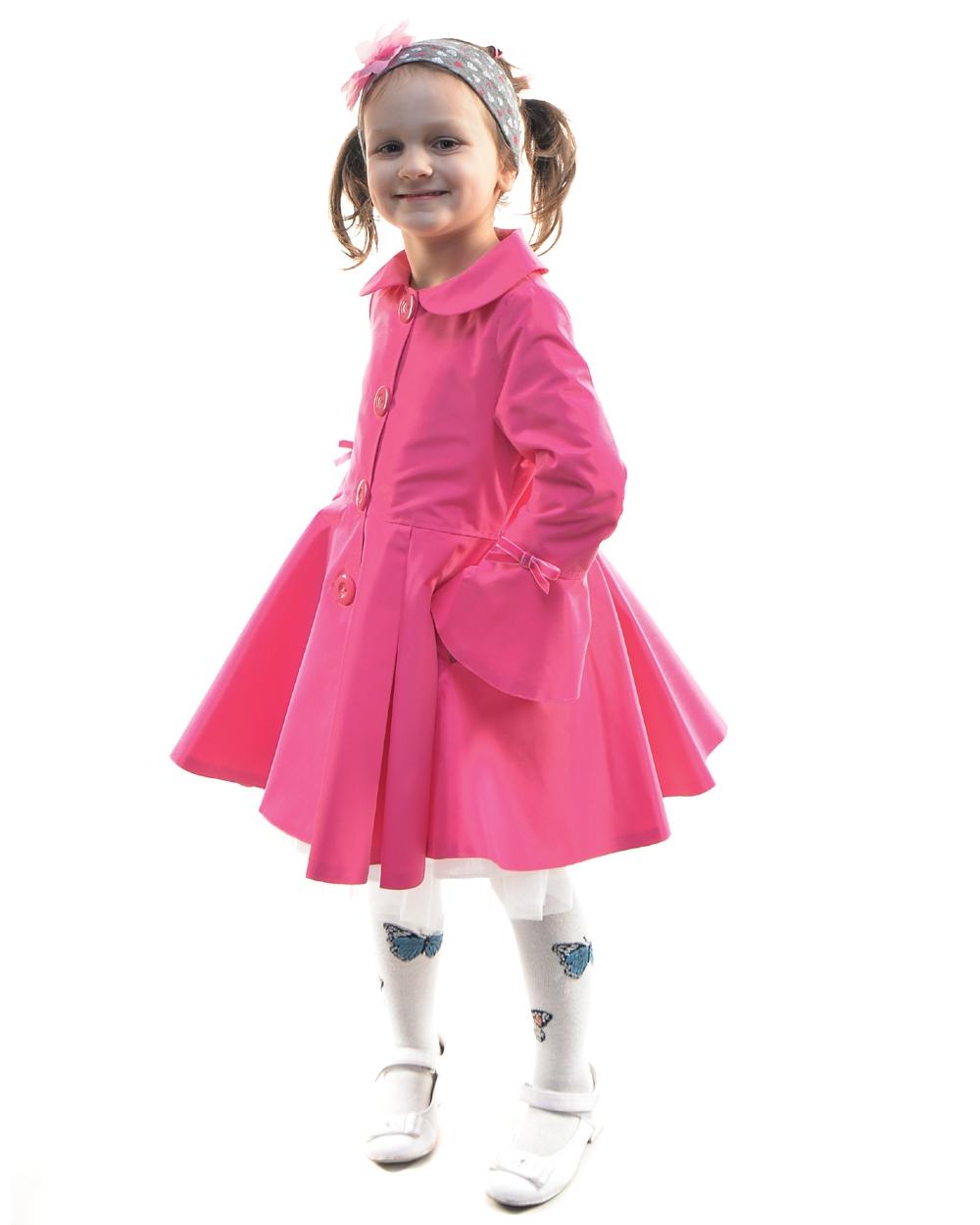 detský jarný kabátik ELLEN ružový d7a048837ec
