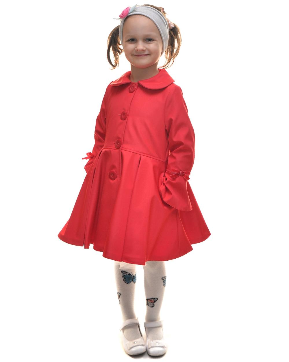 detský jarný kabátik ELLEN červený 5dfb5431ef0