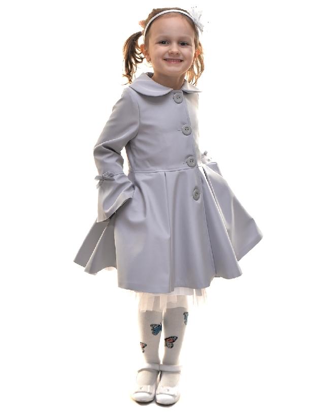 detský jarný kabátik ELLEN sivý. skladom 84de6707d75