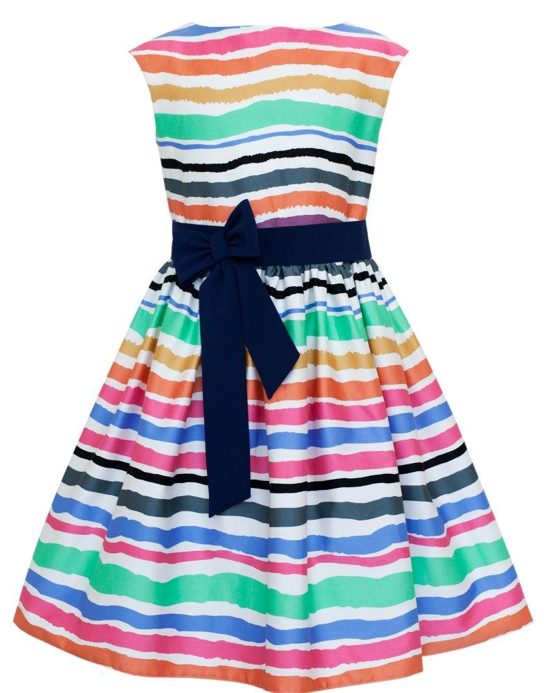 b84423a87089 dievčenské pruhované šaty DANAE
