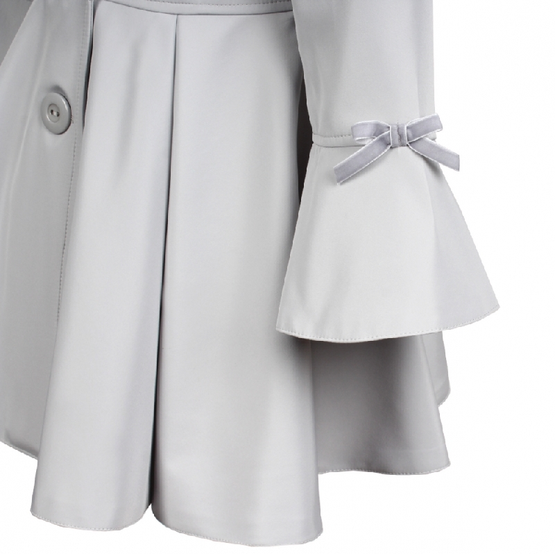 detský jarný kabátik ELLEN sivý 7b0e1d3bf00