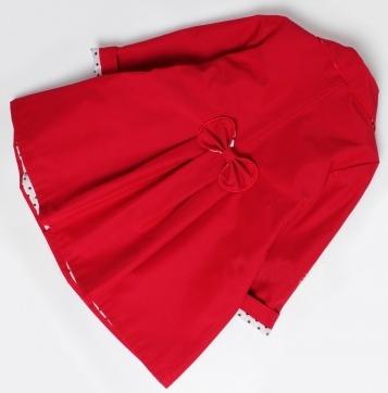 detský jarný kabátik STELLA červený. skladom bd71f1e508a