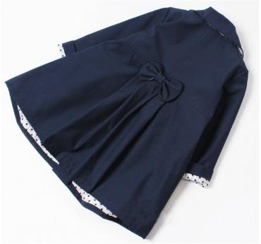 detský jarný kabátik STELLA modrý 582d8ec6a15