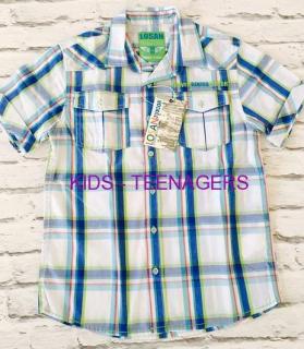 b5814acc74ad chlapčenská športová košeľa LOSAN empty