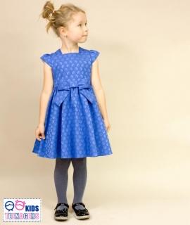 dievčenské sviatočné šaty EVITA modré MINI empty 613d39bea1d