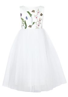 3c4b528d10ba dievčenské slávnostné šaty MÁRIA s výšivkou empty