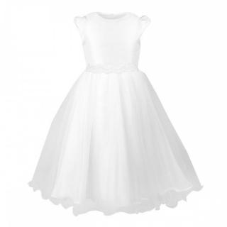 ded6e15a2cec dievčenské šaty na svadbu DELFINA biele empty