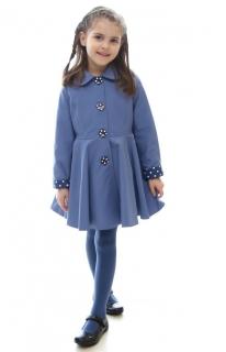 ed73033280ef dievčenský jarný kabát POLLY svetlomodrý empty