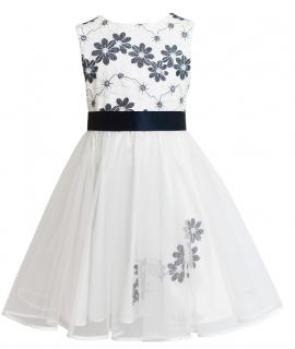 dievčenské slávnostné šaty MIA s výšivkou empty 2659d925cd0