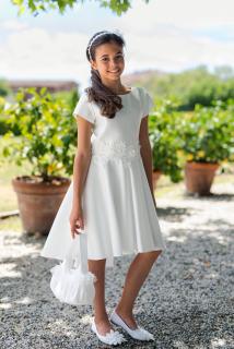 dievčenské asymetrické sviatočné šaty empty 075ceed1378