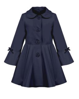 118b5c456b4c detský jarný kabátik ELLEN modrý empty