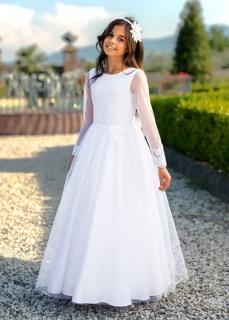 2b0b1cfd6930 dievčenské dlhé šaty pre družičky Maeve empty