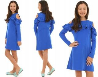 14bfa2ca44e4 dievčenské šaty s dlhým rukávom tmavomodré empty