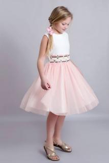 65c31381404f dievčenské romantické šaty ružové empty
