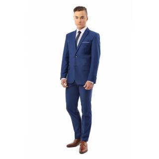 11c94a157cc7 chlapčenský elegantný oblek KOBALT 158-164cm empty