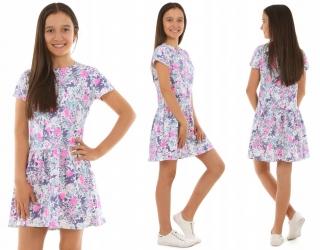 646b2140a dievčenské letné šaty empty
