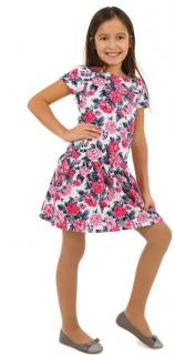 fe783fcbedaa dievčenské letné šaty kvety empty