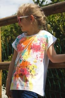 1afa6e7e40f9 dievčenské tričko-tunika LOSAN empty
