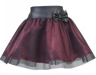 f71d8a50307e dievčenská suknička NAOMI červená empty